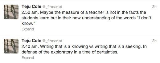 teacherunknowing